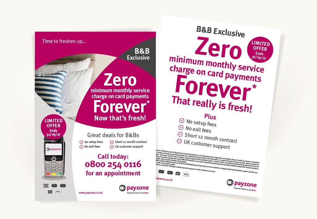 Payzone Leaflets