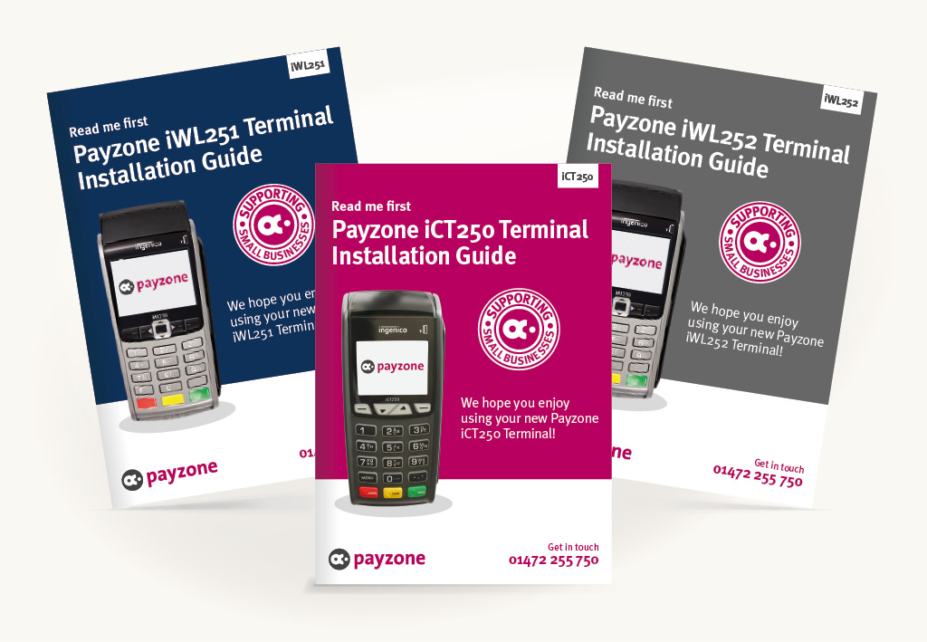 Payzone Terminal Guides