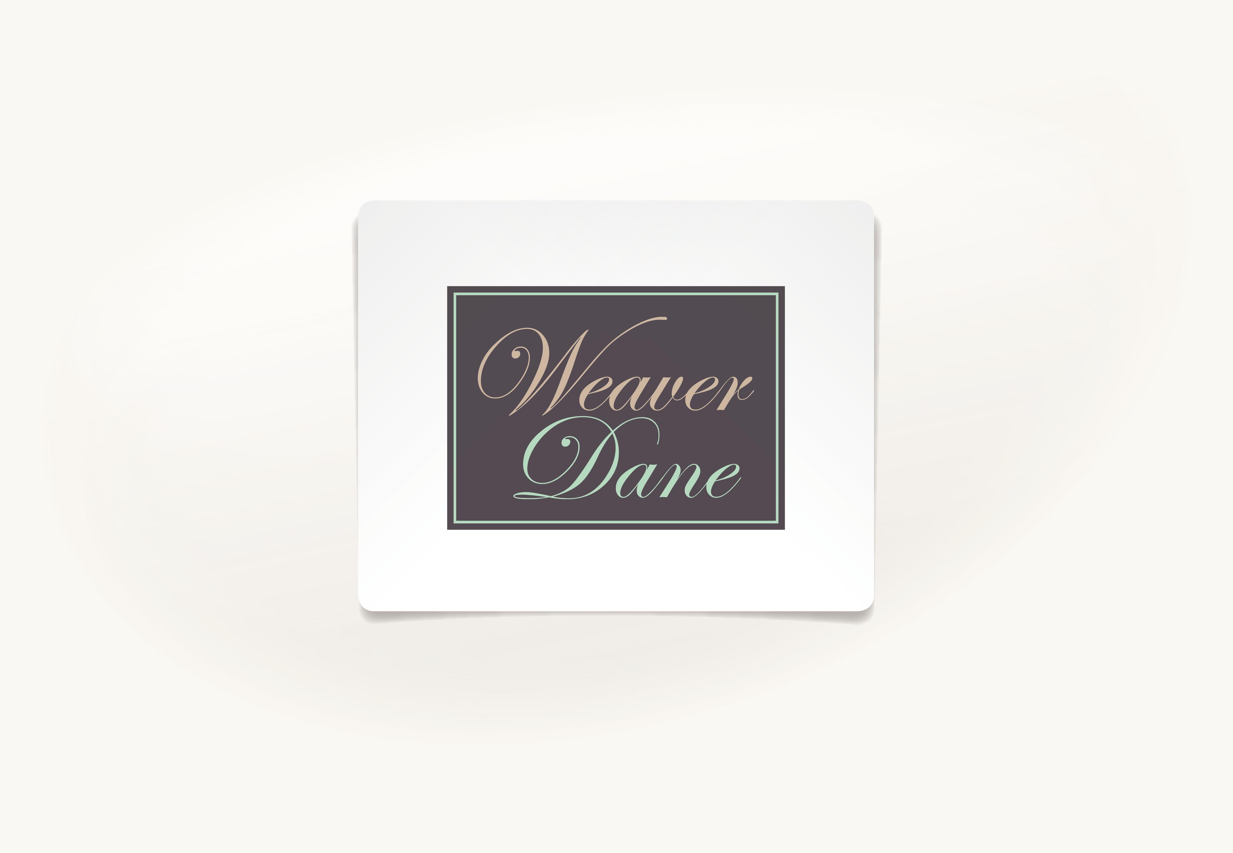 Weaver Dane Brand