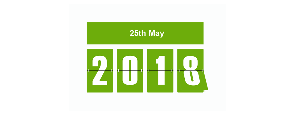 GDPR changes on 25th May 2018.
