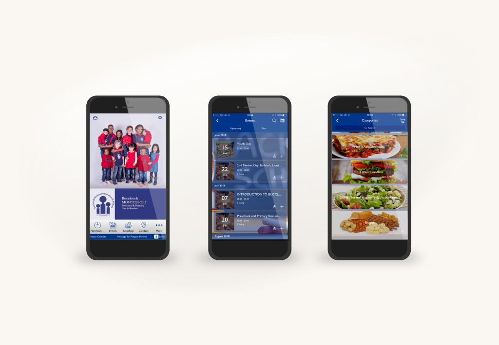 Buccleuch Montessori Mobile App