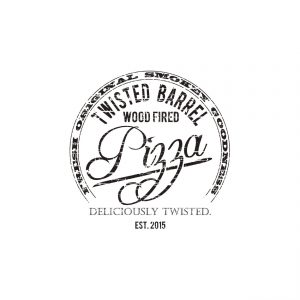 Twisted Barrel Pizza Logo