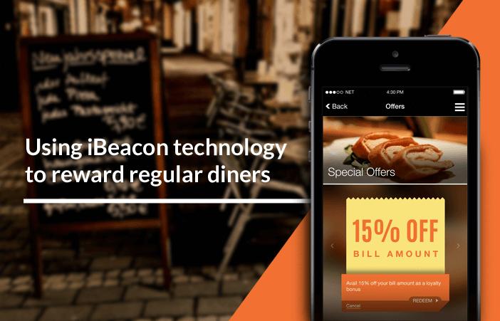 Beacons & Proximity Marketing Restaurant